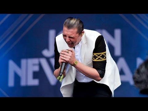 John Newman - Cheating at Glastonbury 2014
