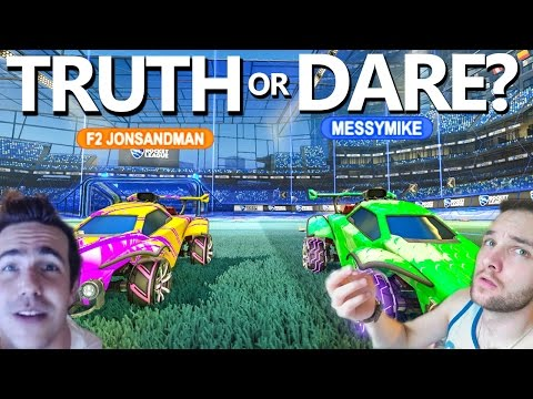 "ROCKET LEAGUE ""TRUTH OR DARE"""