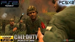 Call Of Duty: World At War - PS2 Gameplay 1080p (PCSX2)