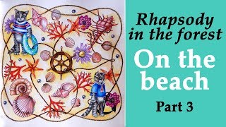 Coloring With Prismacolor Pencils Rhapsody In The Forest On Beach