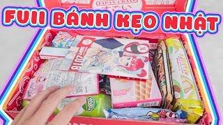 Khui thùng full bánh kẹo từ Nhật Japan Crate tháng 9