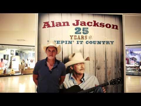 Jon Pardi - Alan Jackson Hall Of Fame Exhibit video