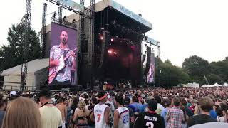 Silvertongue - Young the Giant - Music Midtown 2017 - Home of the Strange tour
