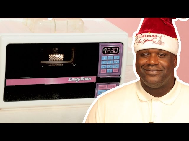 Shaquille O'Neal's Favorite Easy-Bake Oven Recipes