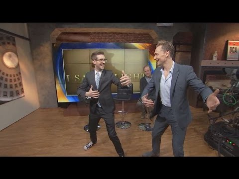 Tom Hiddleston talks I Saw The Light on Good Day DC