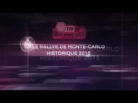 Rallye Monte-Carlo Historique 2015 - Teaser