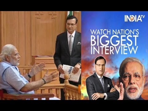 Narendra Modi in Aap Ki Adalat 2014 Full Episode - India TV
