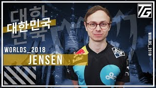 Jensen responds to critics after Cloud9's insane final Worlds groups day