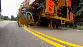 MoDOT Striping