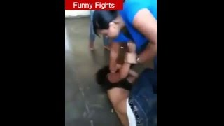2 Brazilians Girls Fight  The Funny Liveleak Fights 2016