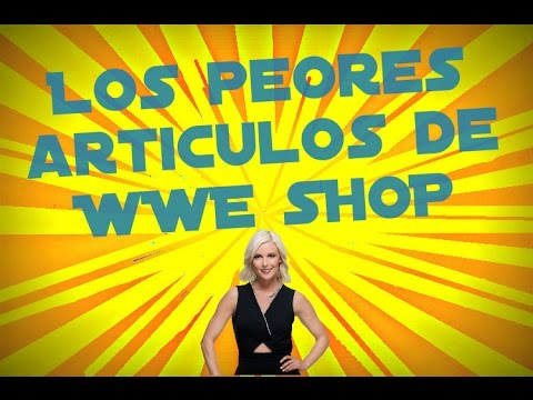 Los peores articulos de WWE Shop