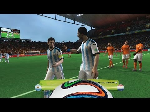 2014 Fifa World Cup - Semi Final Argentina Vs Holanda, Messi Vs Robben