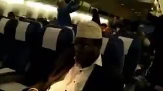 Video of Miguna Miguna Being Deported to Canada after Being Detained