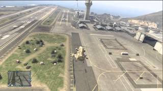 GTA 5 HOW TO GET INTO THE MILITARY BASE ONLINE!