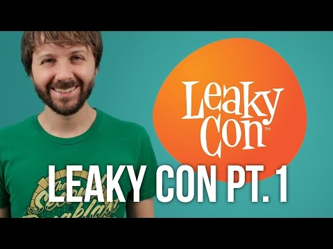 LEAKYCON 2014 Part 1 (featuring Mary Kate Wiles and YOU!)