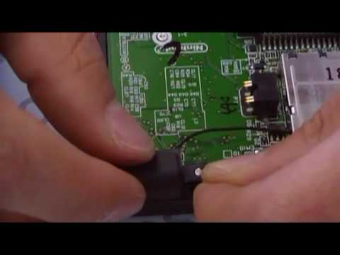 How to repair a Nintendo DS Lite NDSL Top Screen 3