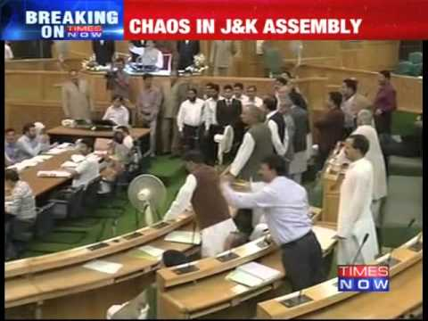 LoC politics: Chaos in Jammu & Kashmir Assembly