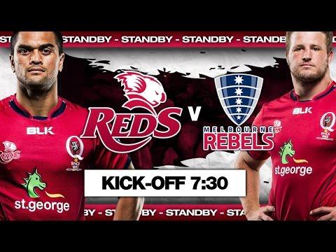 St.George Queensland Reds v Melbourne Rebels