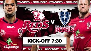 Reds v Rebels full Super Rugby warm up match | Super Rugby Video