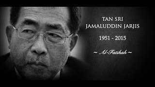 Belasungkawa - Tan Sri Jamaluddin Jarjis