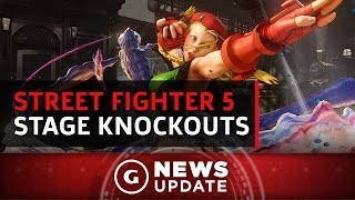 Street Fighter V's Silly New Environmental Knockouts - GS News Update