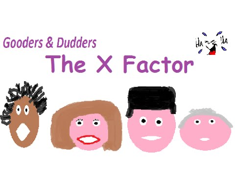 The X Factor dubbed, spoof, sketch - Cheryl Cole, Simon Cowell, Louis Walsh, Mel B