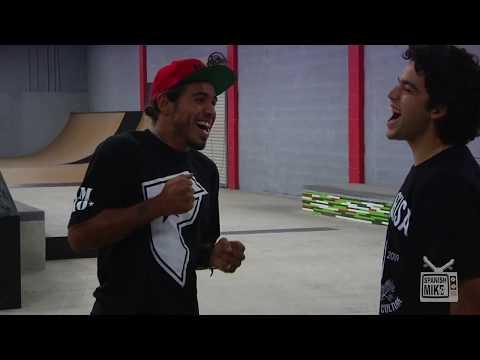 Paul Rodriguez VS Manny Santiago 2011 Game Of Skate