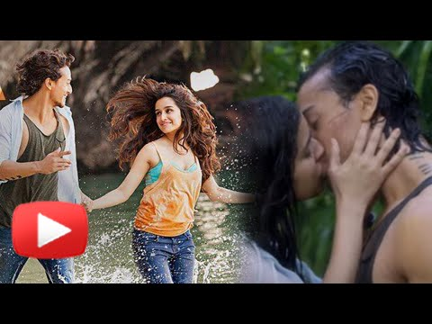 SAB TERA Video Song Out | BAAGHI | Tiger Shroff, Shraddha Kapoor Hot Kiss
