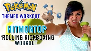 'Rolling Kickboxing' + Conditioning Workout | 30 Day Challenge - Day 16 | Pokémon Themed