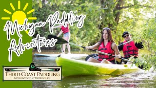 GOOD VIBES & NATURAL HIGHS: Paddle Michigan's Great Southwest