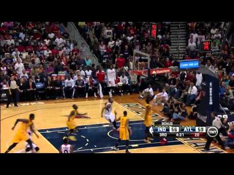NBA, playoff 2014, Pacers vs. Hawks, Round 1, Game 4, Move 43, Lance Stephenson, block