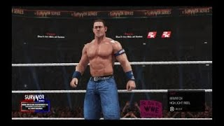 WWE Tournament for the wwe champion 1st Round John Cena Vs Seth Rollins