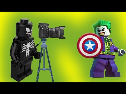 Лего мультики. Щит и кэп. Джокер, Бэтмен, Веном, Человек паук. Мультфильмы для детей 2017. Новинка.