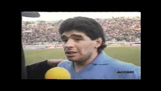 Serie A: Udinese - Napoli (2-2) - 14/01/1990