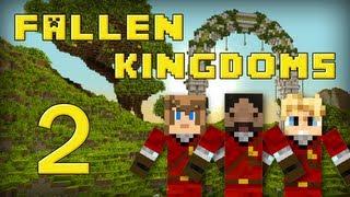 Fallen Kingdoms : Frigiel, Zelvac, Playfan | Jour 2 - Minecraft