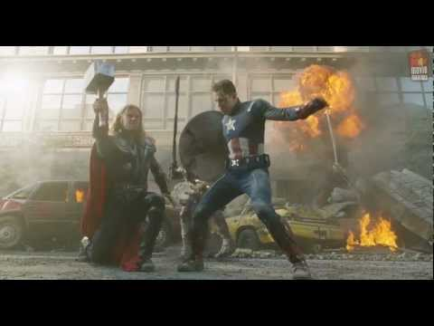 The Avengers | Thor & Captain America (2012)