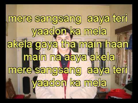 Akela Gaya Tha Main Haan Karaoke For Dr Mukul Tiwari video