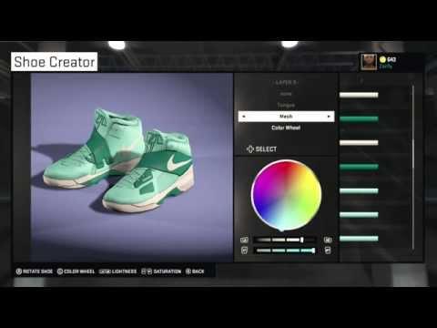 NBA 2K15 Shoe Creator - KD 4