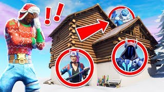 Let's Play Fortnite Hide and Seek Christmas Edition! (New Fortnite Creative Game mode)