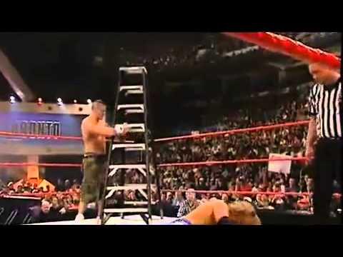 Edge Vs John Cena - Tlc Match - Wwe Championship - Unforgiven 2006 - video