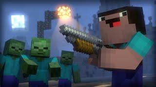 Blocking Dead: Part 1 (Minecraft Animation) [Hypixel]