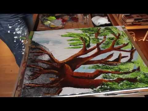 Acrylic Painting - Family Tree