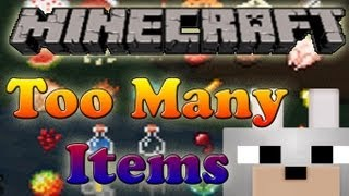 Too Many Items 1.2.5 Minecraft Review and Tutorial (Bukkit Essentials Fix)