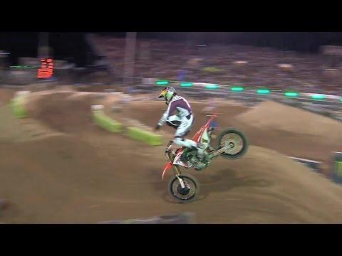 Ken Roczen Crash - Monster Energy Cup 2016