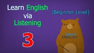 Learn English via Listening Beginner Level | Lesson 3 | My Flower Garden