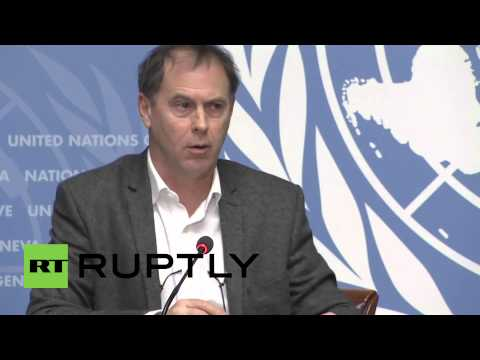 Switzerland: 'Ukraine fighting kills 29 people per day' - UN