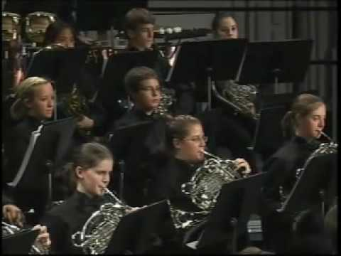 Buchholz High School Wind Symphony: CENTURY VARIANTS Video
