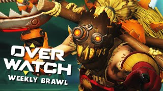 Nur Defensive Helden! | OVERWATCH Weekly Brawl
