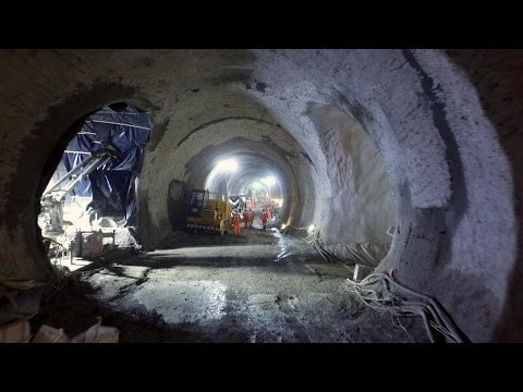 Inside London's New £15 Billion Subway Line