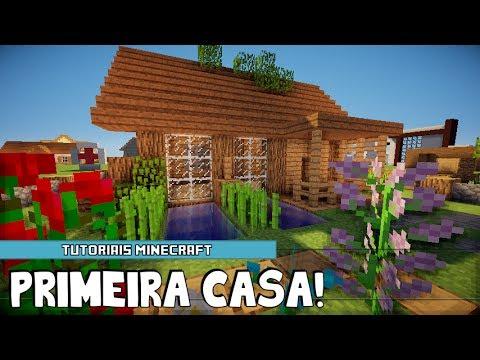 Tutoriais Minecraft: Como Construir uma Primeira Casa